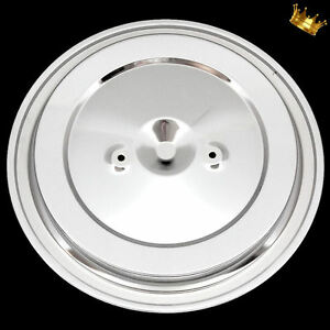 Chrome Air Cleaner Lid Dual Stud Fits 1993 And Up Chevy And Gmc Pickup Trucks