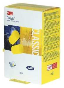 3m 390 1201 Classic Uncorded Ear Plugs 29db Rated Disposable Pk 500