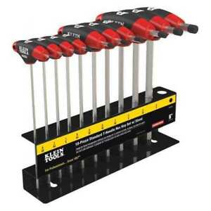 Klein Tools Jth610e 10 Pc Journeyman T handle Set With Stand G0589410