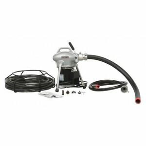 Ridgid 58960 Drain Cleaning Machine 400 Rpm 100 Ft G1809389