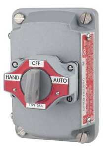 Selector Switch With Cover 3 Position