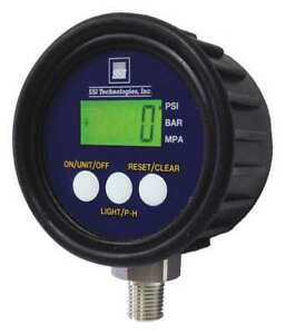 Ssi Mg1 200 a 9v r Digital Pressure Gauge 0 To200psi mg1 9v G1835620