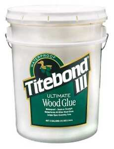 Wood Glue 5 Gal tan Titebond 1417