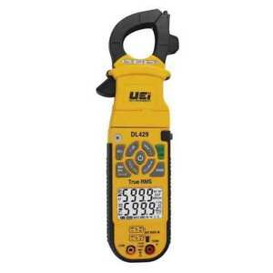 Uei Test Instruments Dl429 Clamp Meter Digital Dual Lcd 750v