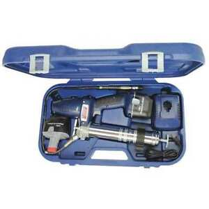 Cordless Grease Gun 18 0v ni cad Battery Lincoln 1844