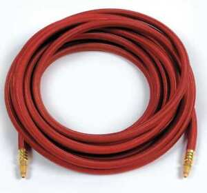 Power Cable red Braided Rubber 25 Ft Miller Electric 57y03rc