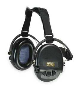 Electronic Ear Muff 18db over the h bk Msa 10082166