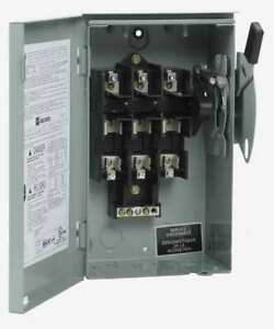 Eaton Dg321nrb 30 Amp Cutler hammer 240vac Safety Switch 3pst