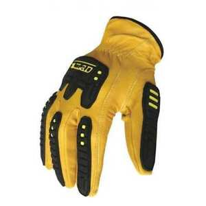 Cut Resistant Impact Gloves m leather pr Ironclad G ild impc5 03 m