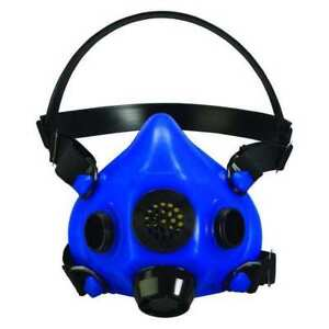 Honeywell North Ru85001l Half Mask Respirator L Blue