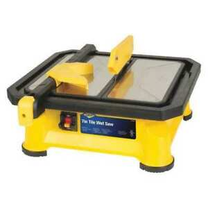 Tile Saw wet Cut electric 7 Blade Dia Qep 22660q