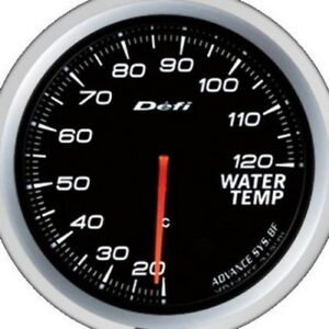 Defi Advance Gauge Bf 60 Water Temp White