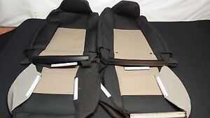 2006 09 Oem Ford Ranger Black With Tan Cloth Seat Covers Sport Buckets