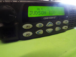 Motorola Cdm1550 Ls Aam25shf9dp5an Mobile Radio Tested Good z14
