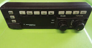 Motorola Astro Spectra T99dx Front Control Panel Only z14