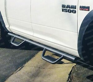 09 18 Fit Dodge Ram 1500 2500 3500 Crew Cab Off road Running Boards Nerf Bar