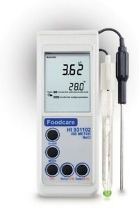 Hanna Instruments Hi931102 Salinity And Sodium Content Measurement Meter 0 150