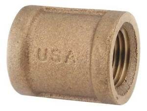 1 Fnpt Brass Coupling 82103 16