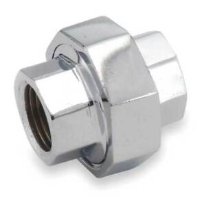3 8 Fnpt Chrome Plated Brass Union 81104 06