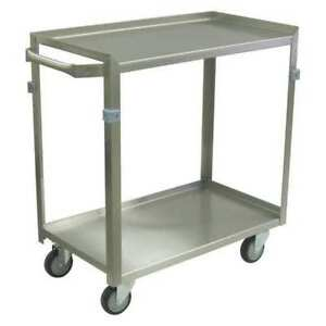 Stainless Welded Utility Cart Zf124 u4 as Jamco