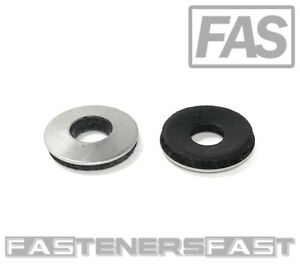 100 5 16 X 3 4 Od Stainless Steel Washer Epdm Neoprene Rubber Backed roofing