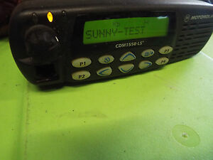 Motorola Cdm1550 Ls Mobile Radio Model Aam25shf9dp5an z15
