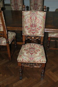 Louis Xiii Xiv Xv Xvi Antique Carved Wood Victorian Chair