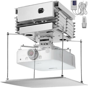 Projector Bracket Motorized Electric Lift Remote Control 39 Inch