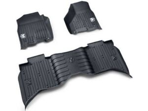 2013 2019 Ram 1500 2500 3500 Crew Cab Mopar All Weather Floor Mats 82215583ab