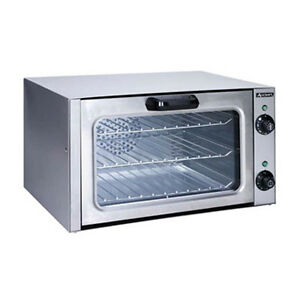 Adcraft Coq 1750w Countertop Electric Quarter Size Convection Oven