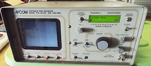 Avcom Portable Test Receiver Ptr 25lcd 950 2050 Mhz