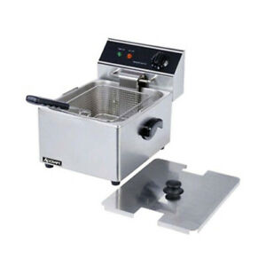 Adcraft Df 6l Single Electric Countertop Deep Fryer