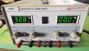 Global Specialties 1302b Dc Power Supply