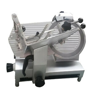 Adcraft Sl300c Manual Electric Meat Slicer 12 Diameter Knive
