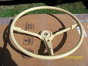1955 Or 1956 Chevrolet Chevy Steering Wheel Original 150 210 Belair Nomad