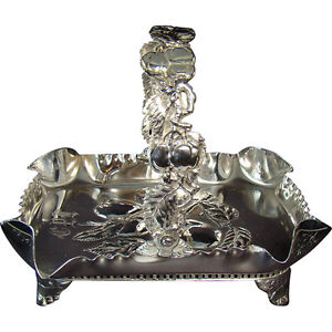 Pairpoint Silver Plated Fruit Basket
