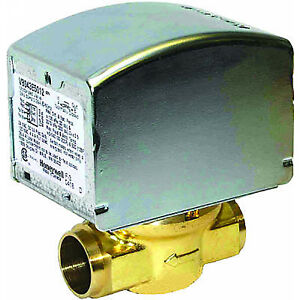 Honeywell 24v Zone Valve 3 4 Sweat 2 pos N c Auxsw V8043e5012