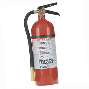 Kidde Pro Line 5 Lb Abc Fire Extinguisher W Metal Vehicle Bracket 46611201k