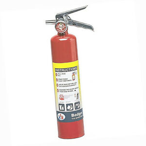 Badgerx99 Extra 2 5 Lb Abc Fire Extinguisher W Vehicle Bracket 23384b