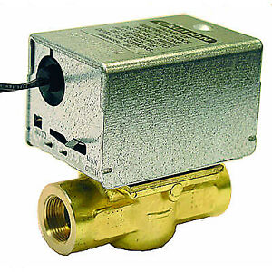 Honeywell 120v 1 Npt 2 way N c Zone Valve V4043a1697