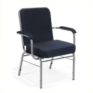 Ofm Big And Tall Comfort Class Series Arm Office Chair In Navy