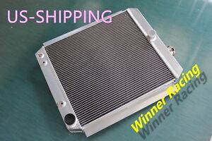 56mm Radiator Fit Chevy Gmc 3100 3600 3800 1 2t 1t Truck Pickup 1947 1954 V8 A T