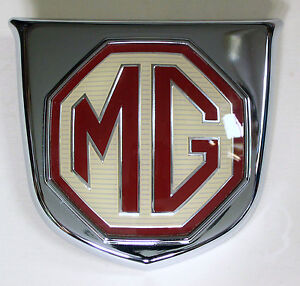 Mgf Front Grill Badge Brand New Genuine Mg Rover Part Dab101370