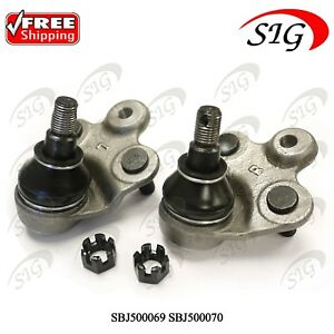 Front Left Right Lower Suspension Ball Joints For Honda Civic 2006 2011 2pc