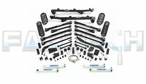 2003 2006 Jeep Wrangler Tj Fabtech 6 Long Arm System K4010 W 155 Rebate