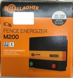 Gallagher M200 2 Joule 110 Volt Electric Fence Charger