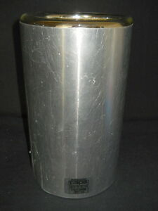 Pope Wide Mouth 1900ml Cylindrical Full Aluminum Dewar Flask 8621 0099
