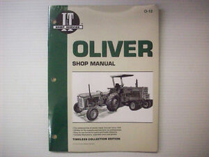 New It Manual Oliver Super 40 440 O 12