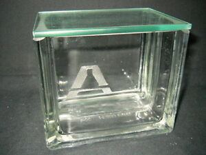 Aldrich Glass 4 3 4 X 3 1 4 X 4 1 4 Rectangular Tlc Developing Tank W Lid