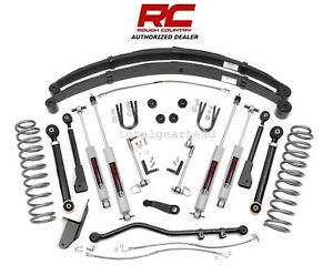 1984 2001 Jeep Xj Cherokee 4wd 4 5 Rough Country X Series Lift Kit W N3 63330